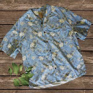 NWOT Men's Jos. A. Bank Silk Button Front Shirt
